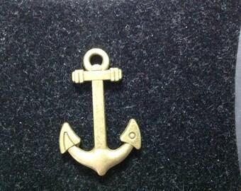 Navy anchor charm