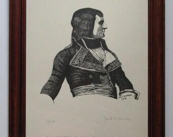 Napoleon Bonaparte at Rivoli by Jack Demers Limited Edition Print 17/500 11x14