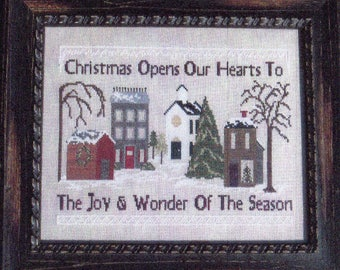 Christmas Opens Our Hearts Pattern