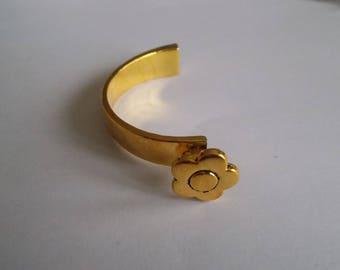 spacer or connector for bracelet color old gold