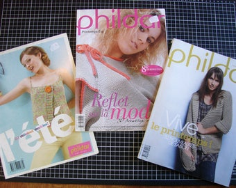 Set of 3 catalogs - knitting - spring women's clothing was