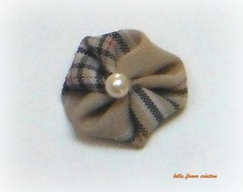 Interleave for creation of small flower beige 3cm