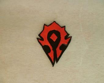 World of Warcraft - horde Crest
