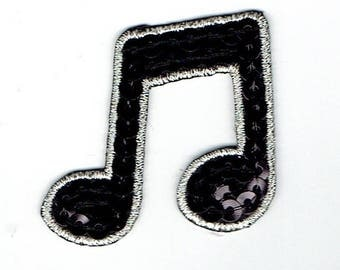"Patch Thermo trend pattern ""music Note"""