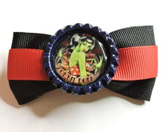 Zombie Pin-up Doll Bow