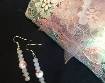 Shabby sheek earrings