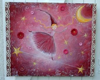 "Original painting ""Star dancer"""