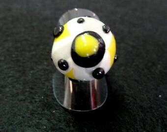 Original 'Yellow Fusion' whimsical ring