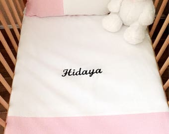 Custom blanket and pillow cover