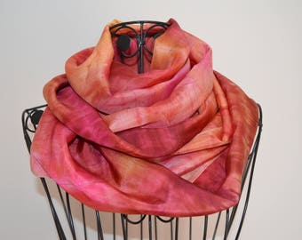 made with a painted p9 scarf snood manually shade 4
