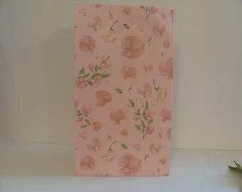 1 piece paper bag gift wrapping rose floral 22.5 * 12.5 cm
