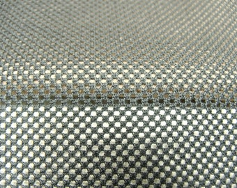 Black mesh net fabric
