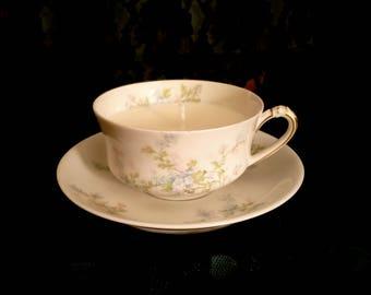 Vintage Bone China Teacup Candle, antique teacup candle, Vintage wedding.