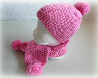 Destock Hat - scarf 06/14 months