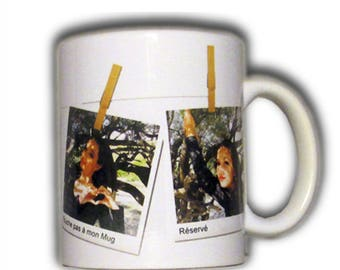 Father's day personalized mug for artistic effect rope laundry gift idea