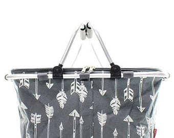 Chic Arrow Insulated Market Basket