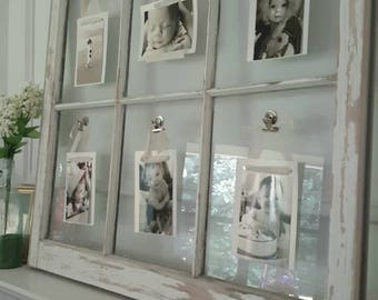 Customized Picture Frames & Framing using reclaimed Vintage Windows