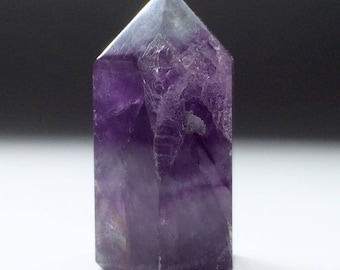 Purple Fluorite Crystal point