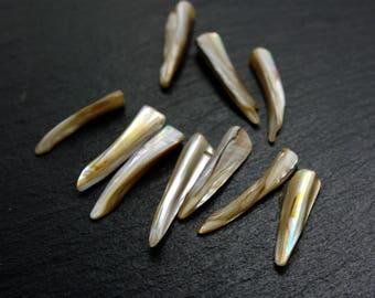 Set of 5 pearls
