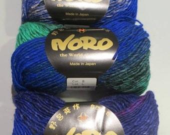 Garden of NORO Silk yarn, colour No. 8