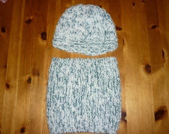 Set hat and neck for children 2-3 years