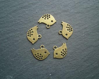 5 charms charms 16x13mm