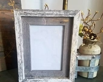 ON SALE New Unique Farmhouse French Country Distressed Wood Picture Frame-wall Distressed Frame 5 x 7 -shabby chic-home Unique Home Decor