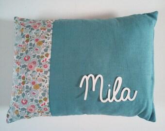 Pillow, linen and liberty customizable