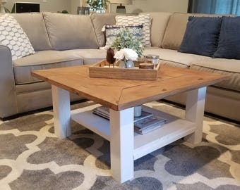 Farmhouse Coffee Table (Local pick-up and delivery only)