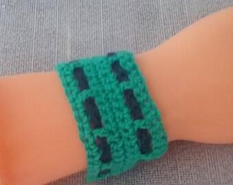 Unisex crochet bracelet / Bracelet / Necklace / charmed / chain / necklace