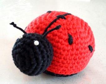Lucky Ladybug amigurumi