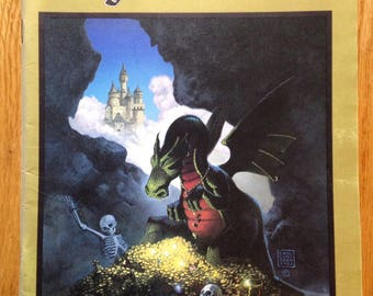 Dragon magazine #50, fifth anniversary issue, Vol. V, No. 12, June 1981