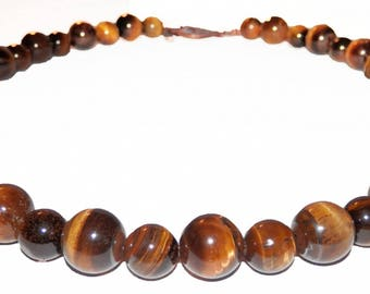 Yellow Tiger Eye necklace
