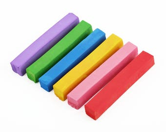 Pastels  6 Colors/set crayons hair Chalk Dye styling tools