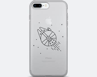Star Wars Millennium Falcon Case for iPhone 6, iPhone 6 Plus, iPhone 6s, iPhone 6s Plus, iPhone 7, iPhone 7 Plus
