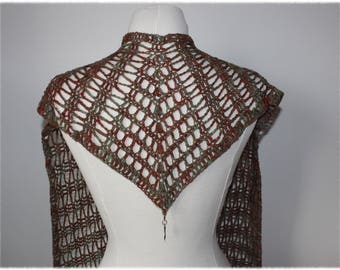 Delicate Wool Scarf