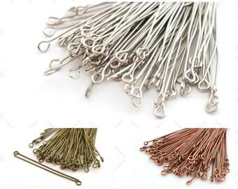 100 nails look metal 50 mm