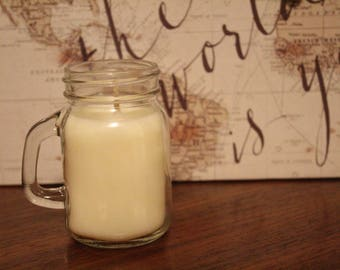 Handmade Soy Candle - Citrus Splash