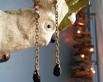 "unique ""dark Willow"" earrings"