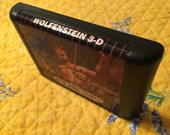 Wolfenstein NTSC-U Genesis *Homebrew* cart only