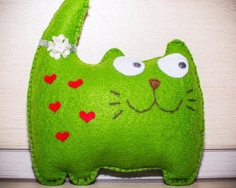 Soft toy cat
