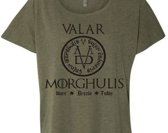 Game of Thrones Valar Morghulis T shirt