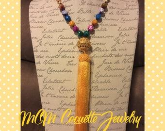 Tassel Handmade Necklace