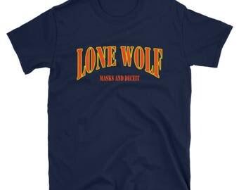 Masks and Deciet: Season One Lone Wolf Shirt