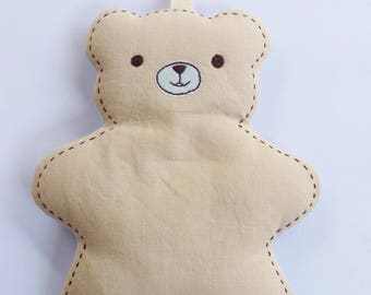 Beige cuddle toy for child's room