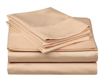 1000TC-100% Egyptian cotton Bed sheet set/Jade/flat fitted 2 pillow covers
