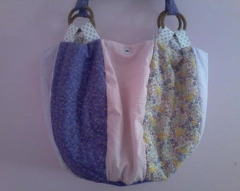 Large ball patchwork bag