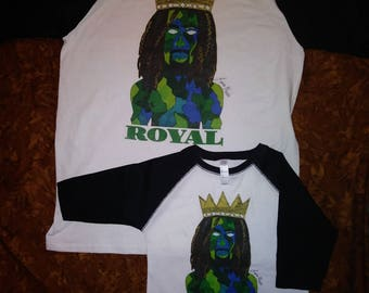 Royal Baseball Tee