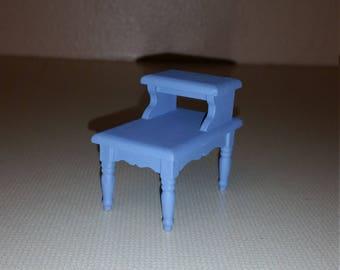 Dollhouse miniature end table