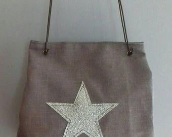 thick cotton purse bag